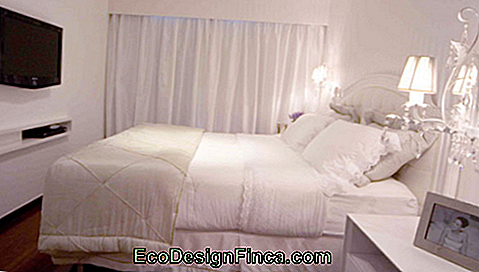 chambre double blanche