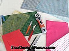 Fabric patchwork pude