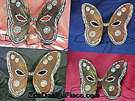 Halloween Butterfly Shaped Mask