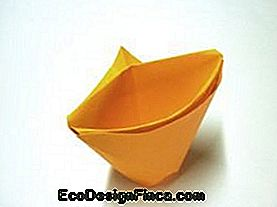 Origami med Cup Folding