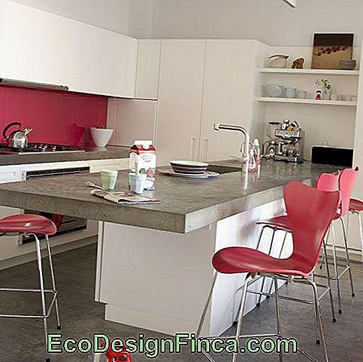 60 Cucine rosa decorate - foto stupende: decorate