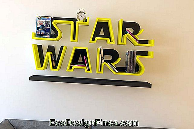 Idea creativa: shelf star wars