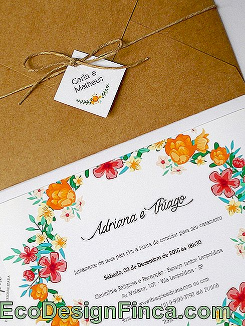 Rustic Wedding Invitation: 35 ideas with photos and tips: wedding