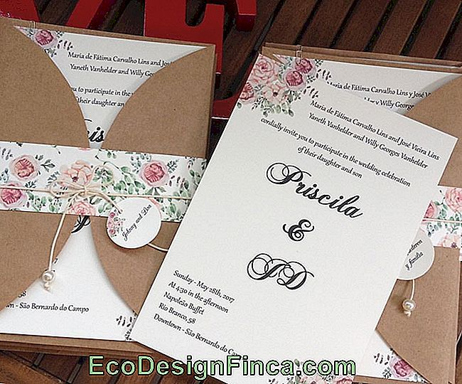 Rustic Wedding Invitation: 35 ideas with photos and tips: ideas