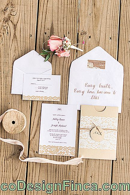 Rustic Wedding Invitation: 35 ideas with photos and tips: rustic