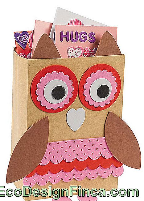 EVA Owl in Paper Bag