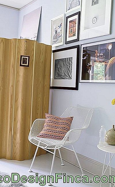Single sheet wooden screen