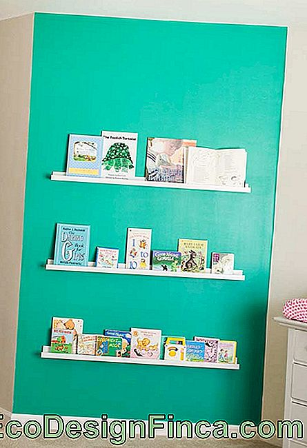 Colorful wall to catch your baby's attention