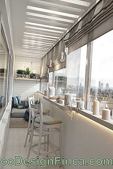 Increase the possibilities of using your balcony with the glass