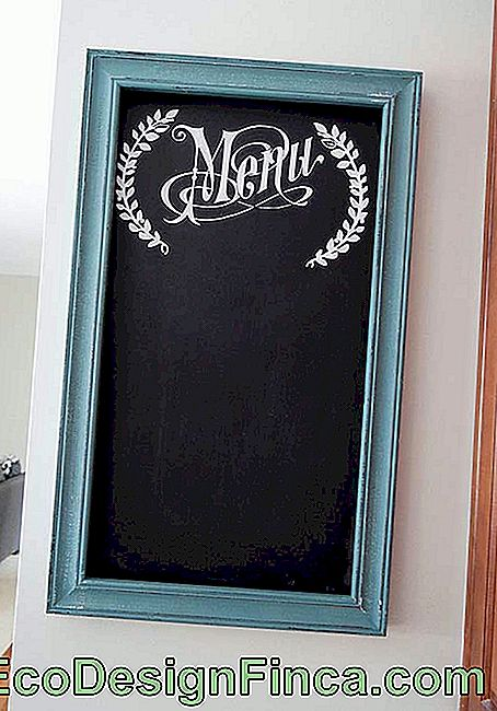 Blackboard / blackboard to display the day's menu