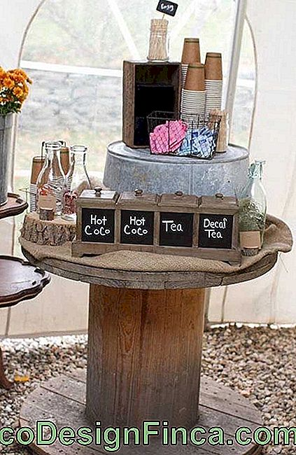 How about setting up a bar on the spool table?