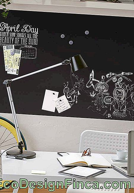 Chalkboard: what it is, how to make and 60 decorating ideas: Picture