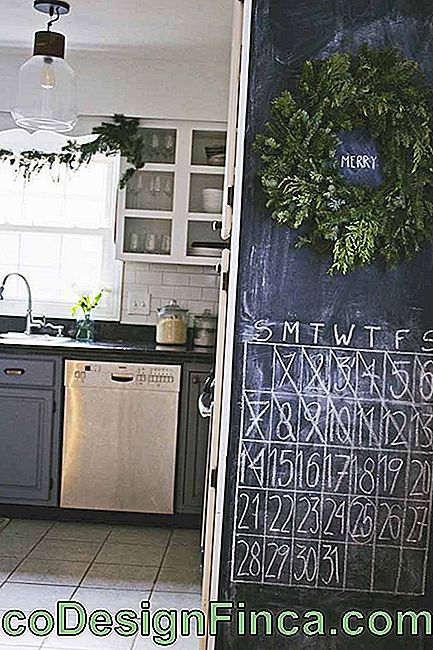 What if the Chalkboard turns a calendar? A good option too