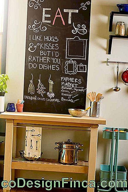 Chalkboard: what it is, how to make and 60 decorating ideas: make