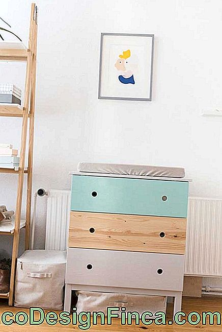 A dresser the size of your baby's needs