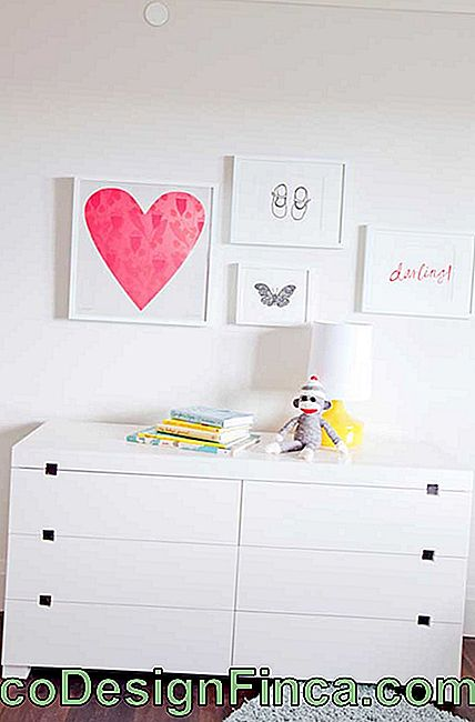 Handles like that of this dresser are best suited for baby rooms