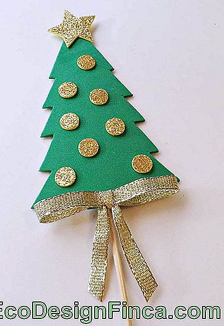 Christmas ornaments in EVA: 60 ideas and how to do step by step: ideas