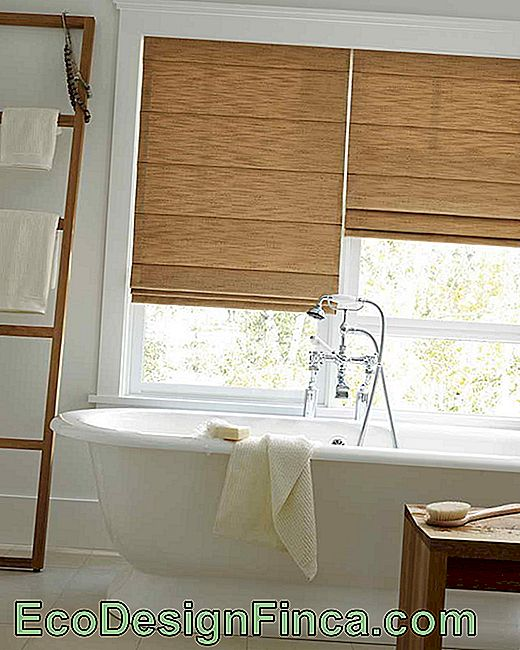 Bathroom Curtain: Tips And How To Make The Choice Voor Het Venster