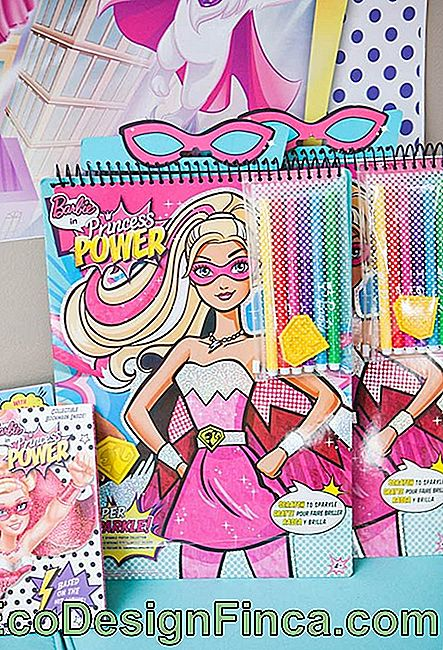 Kit de fête Barbie à colorier