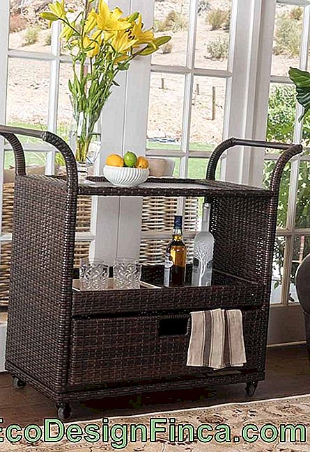 Wicker bar: farmec pur!