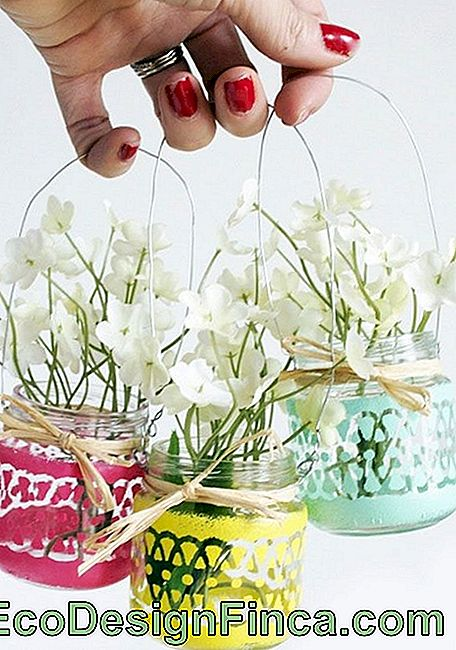 Vase de sticlă decorate: 65 de inspirații și ușor pas cu pas: decorate