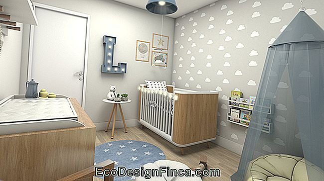 Baby Room Decor: 75 ideer med billeder og design: ideer
