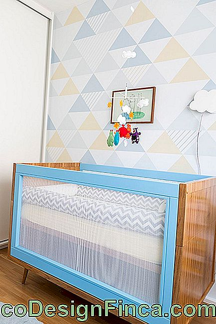 Baby Room Decor: 75 ideer med billeder og design: decor