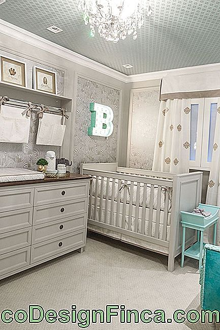 Baby Room Decor: 75 ideer med billeder og design: baby
