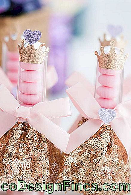 Bubble Tubes voor Princess Party