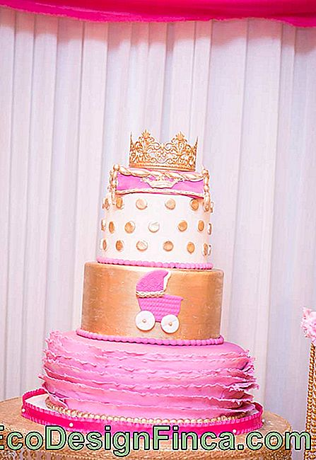 Party Kuchen luxuriöse Prinzessin