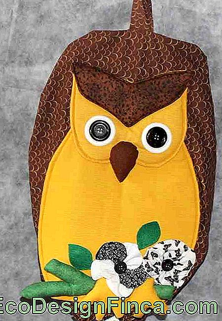 Pull Owl Bag: 60 idee con foto e video passo dopo passo: video