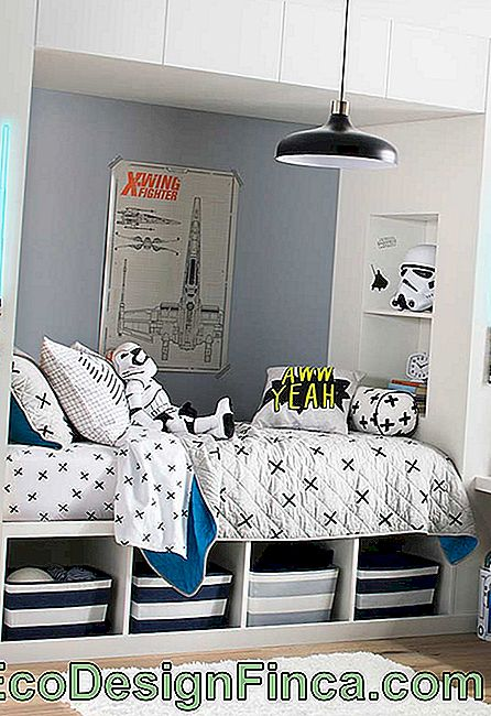 Kinderkamer met Star Wars-thema!
