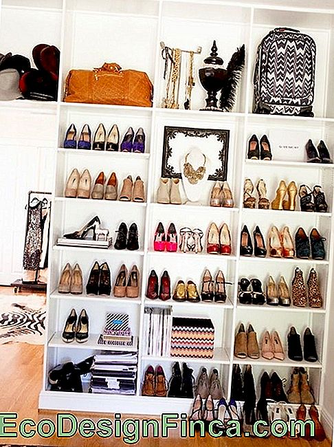 Shoe Rack: 60 Mobile Models With Tips And Ideas