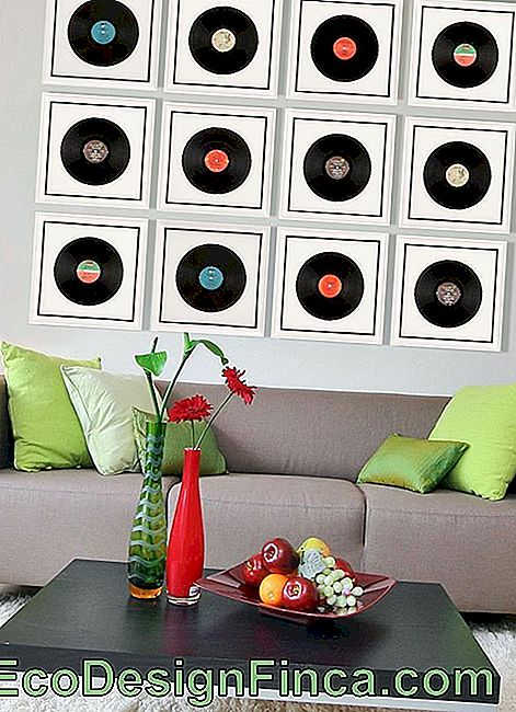 Decorating With Vinyl Records - 60 Photos, Inspirations And Ideas