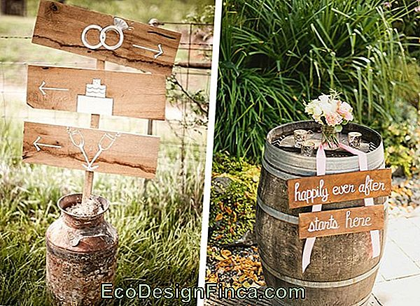 Country Wedding Decor: 90 Inspirierende Fotos