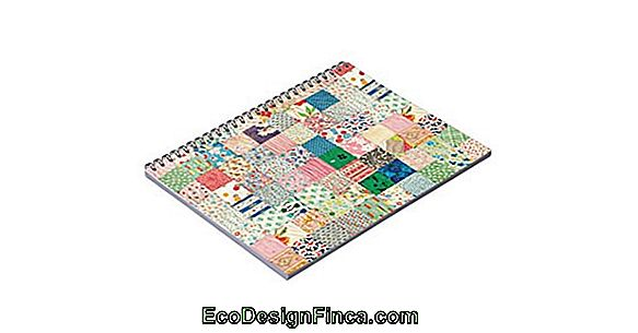 Create A Patchwork Style Notebook Cover