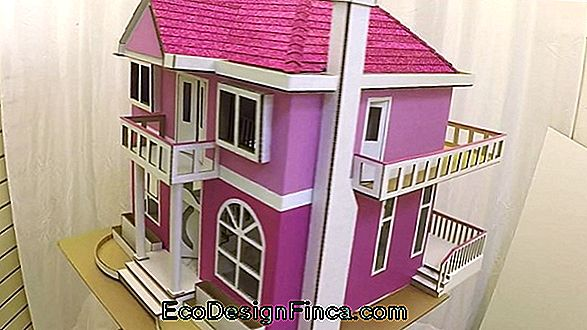 Doll House With Cardboard Box