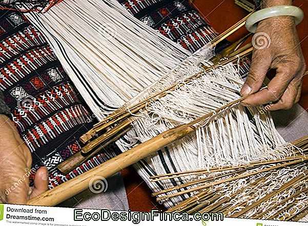 The Loom And The Manual Weaving!