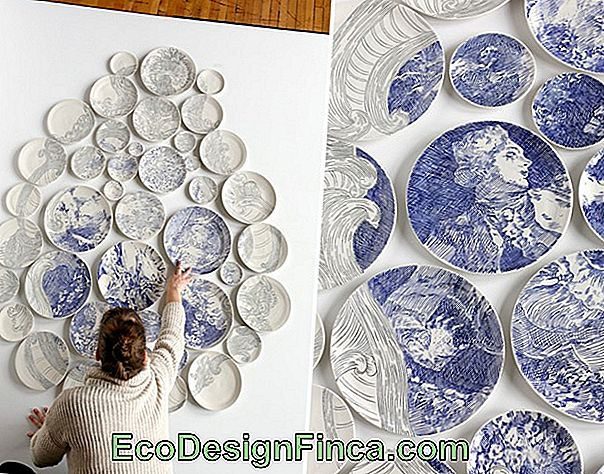 Ceramic Plate - Decorative Panel