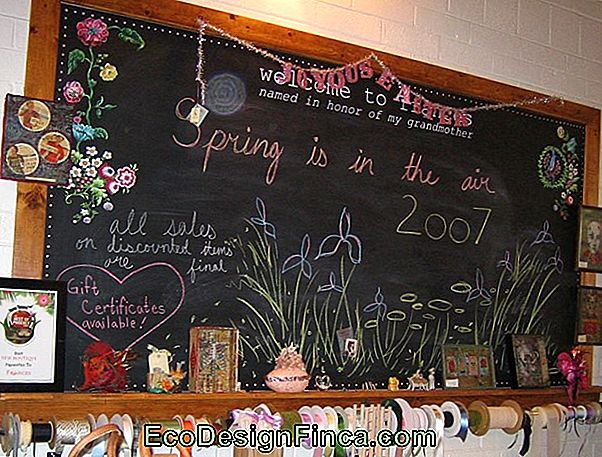 Chalkboard: What It Is, How To Make And 60 Decorating Ideas