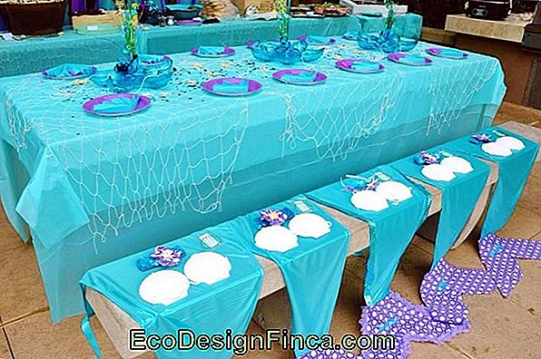 Mermaid Party: 65 Decorating Ideas With Theme