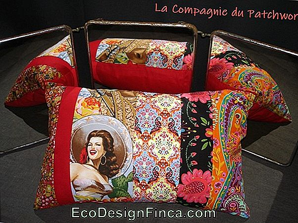 Coussin Patchwork: