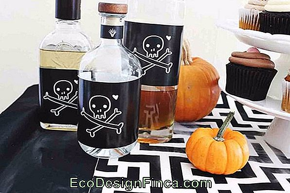 Easy Table Decoration Per Halloween