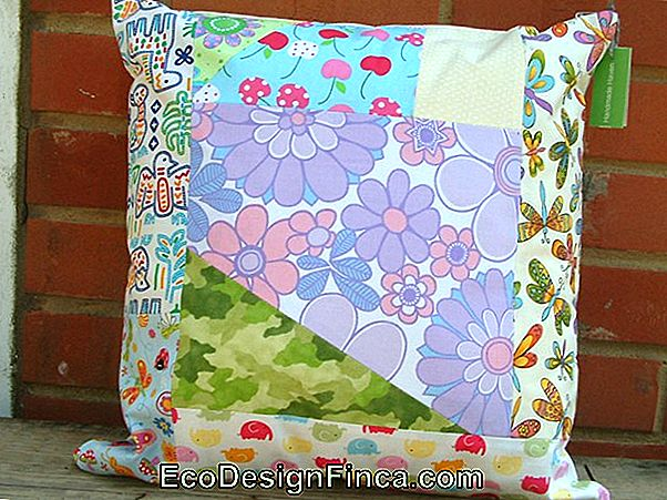 Patchwork Cushion: