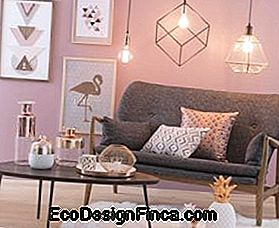 Metalen decoratie: Home Glow