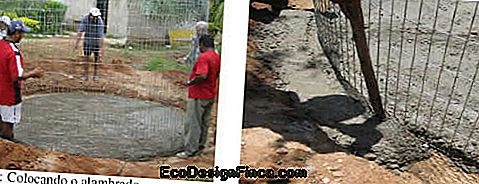 How to make low cost cisterns? The fence cistern!: cost