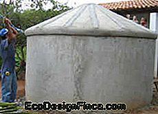 How to make low cost cisterns? The fence cistern!
